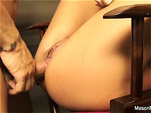 pov at Home plowing Mason Moore