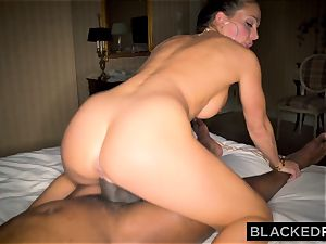BLACKEDRAW Abigail Mac's husband Sets Her Up With biggest big black cock In The World