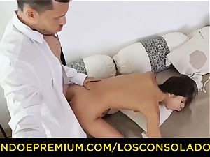LOS CONSOLADORES - Russian Gina Gerson plowed in FFM