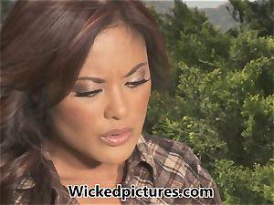 Kaylani Lei wishes of rampant outdoor poking