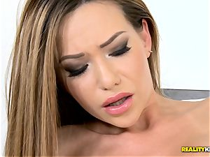 insane Russian honey Subil bend penetrated deep in her mouth-watering kiska pudding