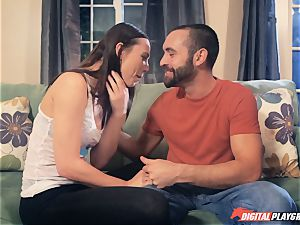 Aidra Fox ravaging her beau in the palace