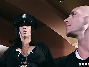 two uber-sexy big-titted Cops Jayden Jaymes and Jenna Presley Interrogate ultra-kinky Criminal