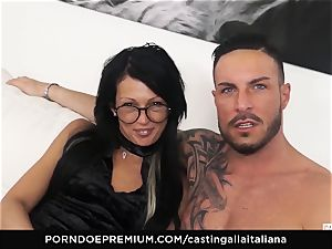 casting ALLA ITALIANA - super-naughty hump with local amateur