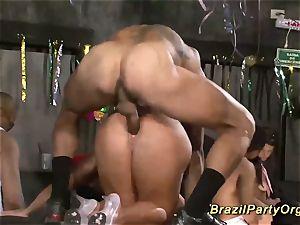 brazilian samba groupsex party sex