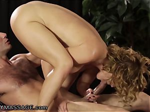 Krissy Lynn loves her massages Deep and hard