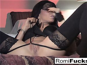 Romi Rain fantastic fun with herself