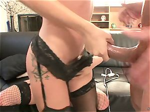 insane Tory Lane gives Amy Brooke a double dipping