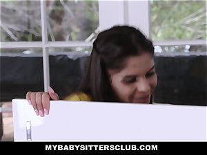 MyBabySittersClub - adorable teen sitter boinks teacher