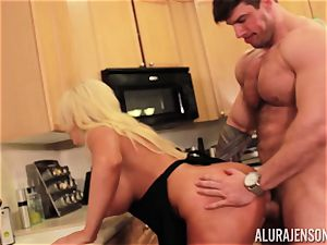 Alura Jenson gets drilled by thick muscle dude Zeb Atlas