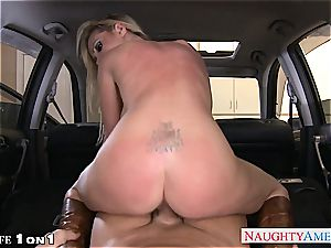 horny Nikki Benz in point of view getting her milf cunt torn up