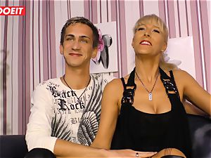 LETSDOEIT - super-steamy auntie rides nephews hard-on On orgy gauze