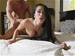 Katrina Jade rides on top