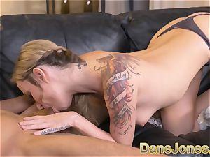 Dane Jones immense mounds towheaded Angel Piaff messy oral pleasure