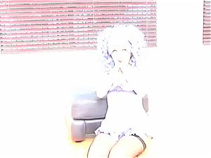 Aaliyah love blue hair behind the scenes photoshoot