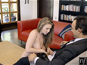 fortunate stud Gets ideal assets Lena Paul For Night S7:E3