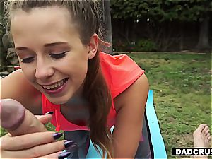 scorching daughter-in-law seducing her step-father