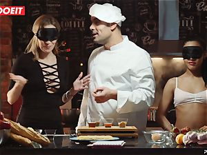 LETSDOEIT - fuckfest Cooking With honies Apolonia and Angel