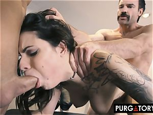 PURGATORY I let my wife penetrate two guys in front of me