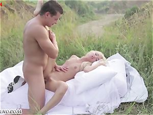 Victoria Puppy - nude hottie in nature