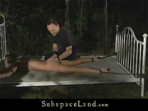 rectal punishment for a strapped slavegirl