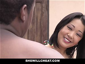 SheWillCheat - japanese wifey pounds bbc guy