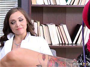 Tiffany star seduced by tattooed medic Anna Bell Peaks