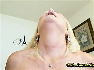 Creampies with Ms Paris Rose and friends
