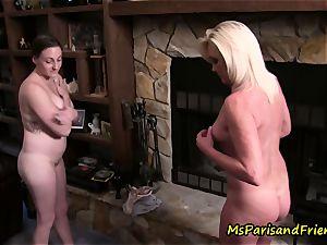 Ms Paris Rose in puss, Maid to Order