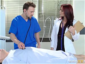 mind-blowing physician Monique Alexander pounds her trainee