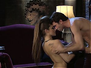 Dani Daniels implementing cogs and cocks in her steampung dream