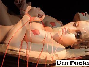 Dani Daniels Has A fun nasty Side As She Gets bound Up