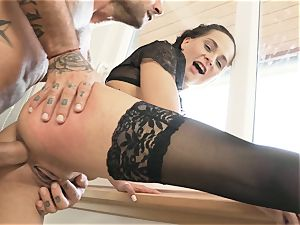 HER restrict - harsh ass-fuck and gasping for subordinated minx