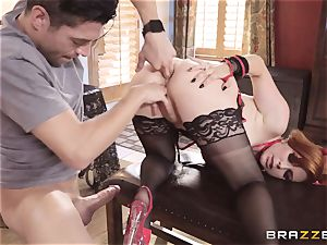 pummeling Penny Pax on Halloween