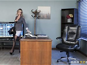 Karma Rx takes cooter pulverized in the office