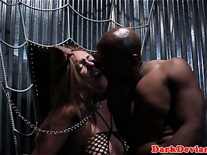 bdsm victim deepthroated by her sir