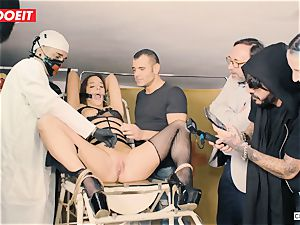 LETSDOEIT - Amirah Is abused at her very first bdsm party