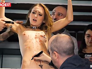 Ukrainian honey Gets multiple ejaculations in super-fucking-hot domination & submission party