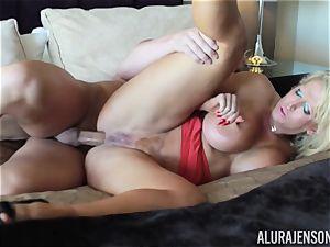 Alura Jenson plunged rock-hard in her MILFY honeypot