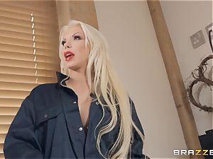 Barbie Sins taking it firm by Danny D