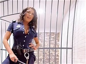 VR PORN-August Ames Get humped rock hard in prison