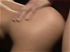 Charley chase is a platinum haired nail dame