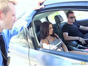 Keisha Grey getting nailed across the car