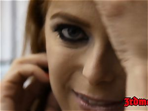sandy-haired succubus Penny Pax boned into splattering