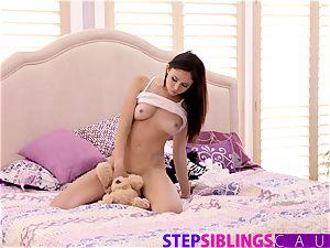 Helping My Step step-sister Ariana Marie spunk