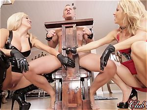 sultry Ms. Alexis Fawx dominates her fresh submissive