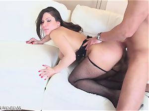 sloppy chinese cougar Alexa Nicole gets her jummy slit pulverizing