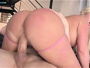 adorable Julie Cash prefers doggy-style and face boning