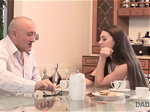 DADDY4K. hump with senior guy is what beauty needed to try in her life