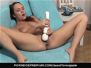 QUEST FOR ejaculation - Blue Angel vibro induced ejaculations